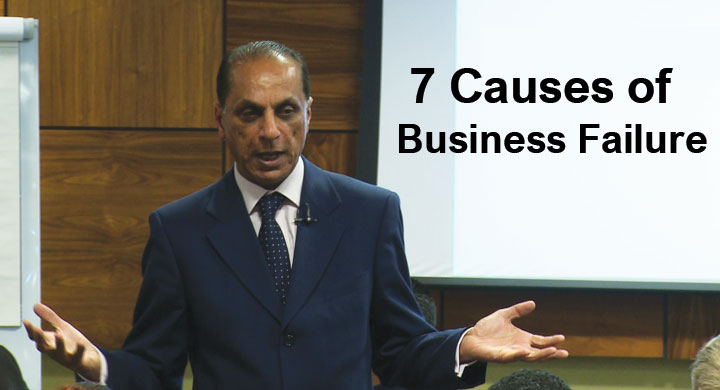 causes of business failure The simple reality is that failure is one of those ugly realities of life—a common  the wisdom to deal with failure  there are many causes for failure.
