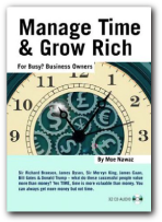Moe Awaz's Managetime and Grow Rich Book